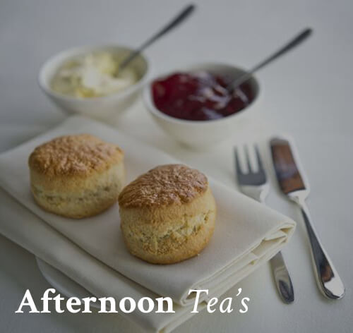 Lord Bute: Afternoon Teas